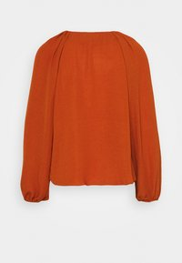 Closet - GATHERED RAGLAN BLOUSE - Blusa - rust - 1