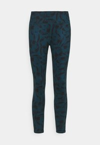 Helly Hansen - VERGLAS 7/8  - Leggings - midnight green - 0