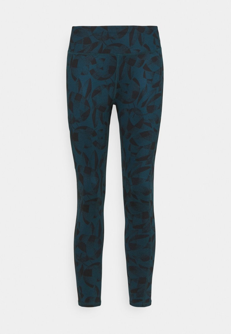Helly Hansen - VERGLAS 7/8  - Leggings - midnight green