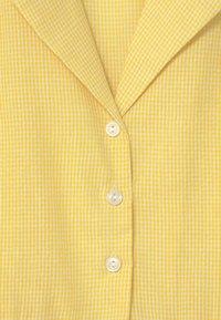 Grunt - JANE CHECK  - Shirt dress - yellow - 2