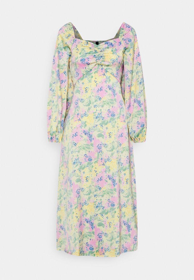 YAS - YASDOTTEA 7/8 MIDI DRESS  - Robe d'été - multi-coloured