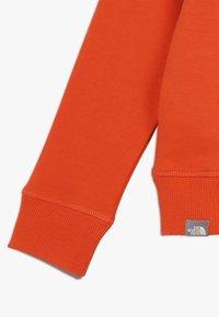 The North Face - BOX CREW UNISEX - Sweatshirt - fieryred/blue - 4
