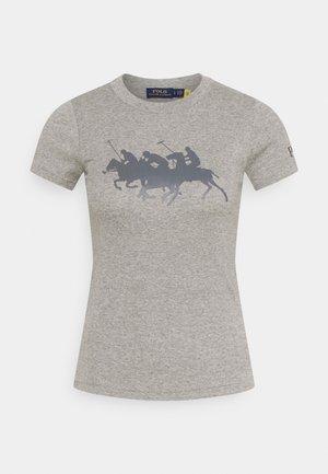 TEE SHORT SLEEVE - T-shirts med print - dark vintage heather