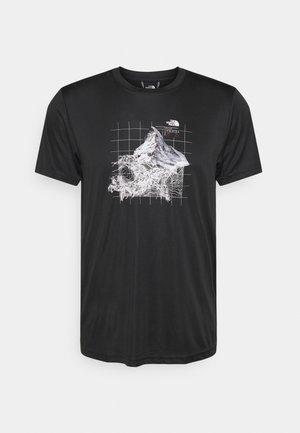 ALPS FIRST ASCENT - T-shirts print - black