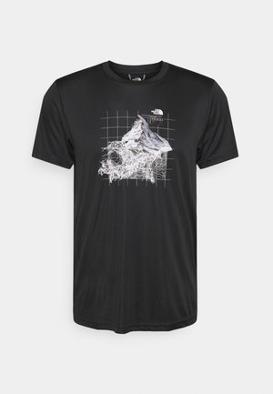 ALPS FIRST ASCENT - Print T-shirt - black