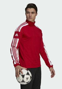 adidas Performance - SQUADRA 21 TRAINING OBERTEIL - Träningsjacka - red - 2