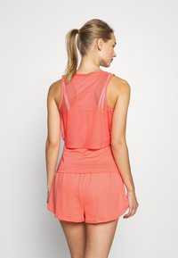 Nike Performance - DRY TANK - Camiseta de deporte - sunblush/white - 2