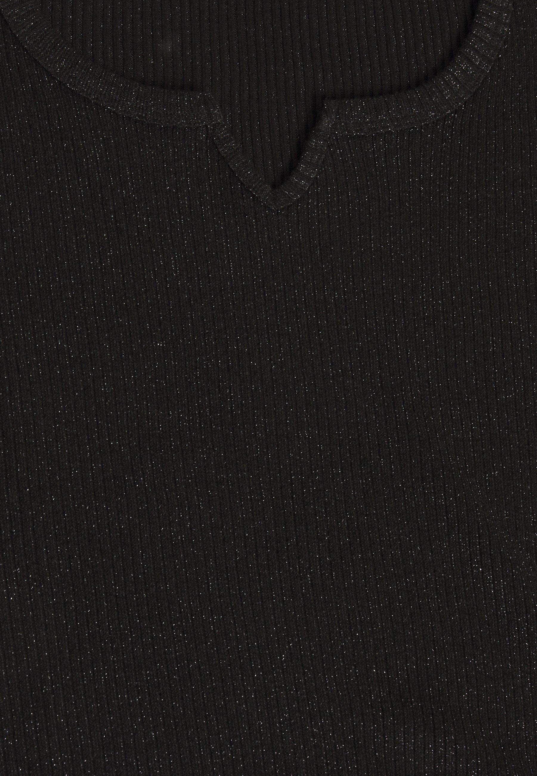 Pieces Curve Pcdivi - T-shirts Med Print Black/svart