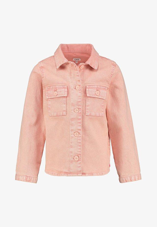 IRUMA - Denim jacket - dusty rose