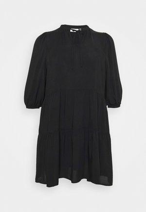 CARNEWMARRAKESH 3/4 TUNIC DRESS - Kjole - black