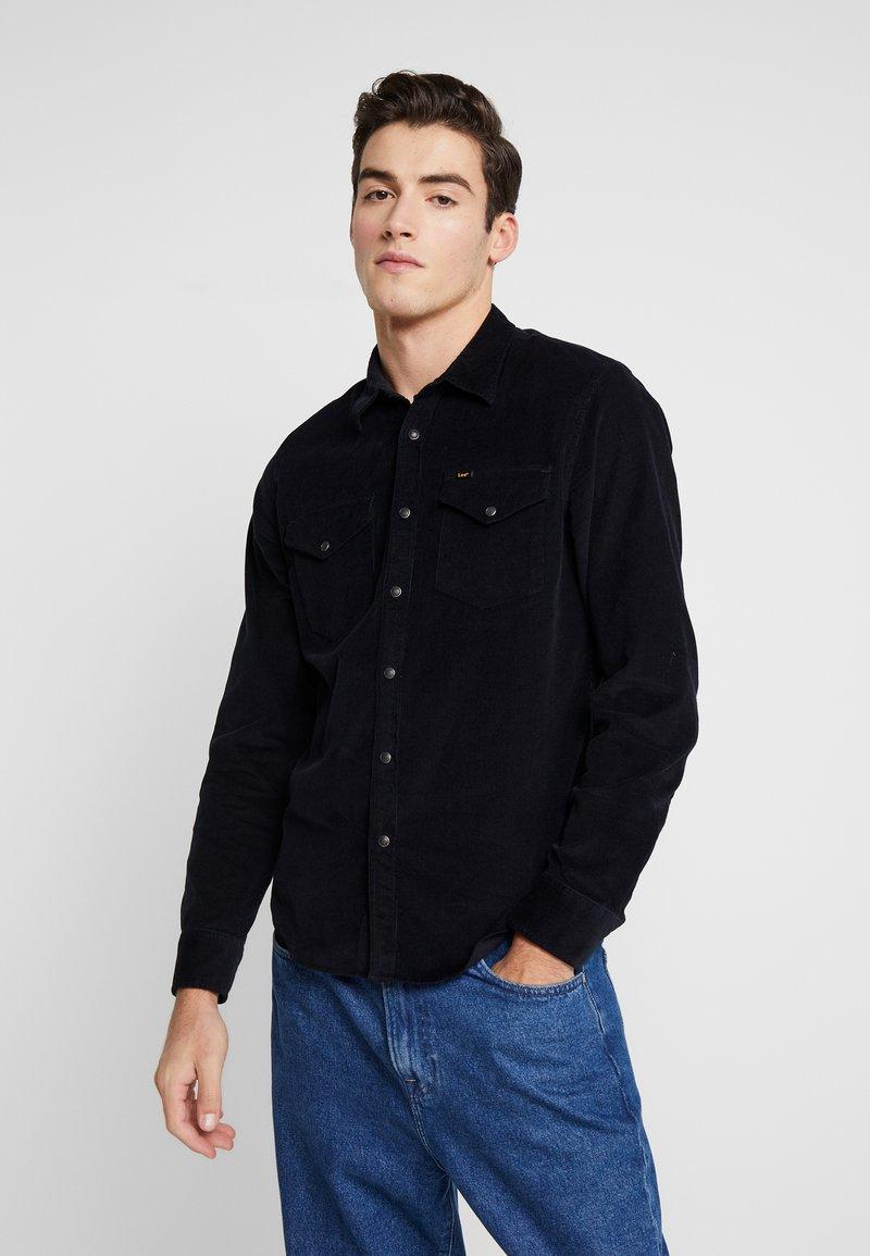 Lee - CLEAN WESTERN - Koszula - black