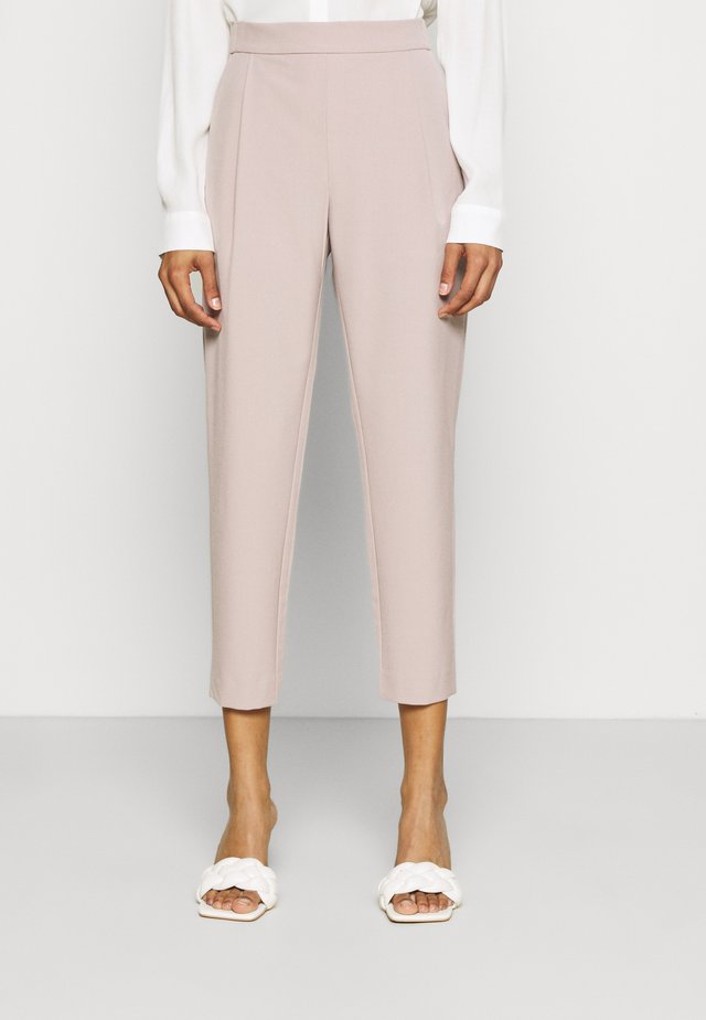 ALEIDA TRI TROUSERS - Pantaloni - dusty pink