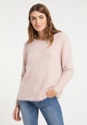 Sweter - altrosa