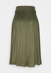 Dorothy Perkins Tall - PLEAT SKIRT - A-line skirt - khaki - 1