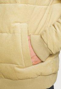 Cotton On - PUFFER JACKET - Light jacket - sand - 5