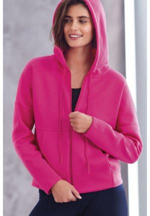 Zip-up sweatshirt - pink