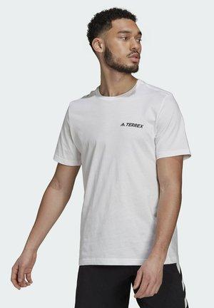 TERREX  - Print T-shirt - white