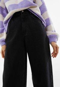 Bershka - Jeans a sigaretta - black - 3