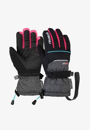 CONNOR R-TEX® XT  - Gloves - blck/blck mel/knouck pink