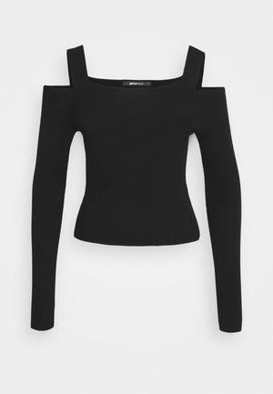 LIV - Langærmede T-shirts - black