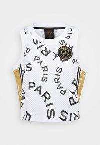 Jordan - PSG - Top - white/club gold/metallic gold - 4