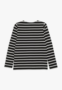 Mads Nørgaard - PABLO TASHINO  - Long sleeved top - black/white alyssum - 1