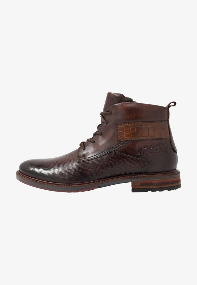 MARCELLO - Lace-up ankle boots - brown
