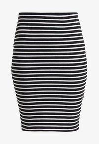 Zalando Essentials - Falda de tubo - black/white - 5