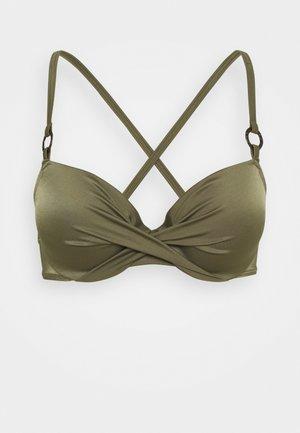 KALAMA - Bikini top - green