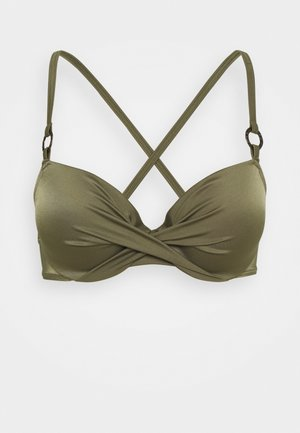 KALAMA - Bikiniöverdel - green