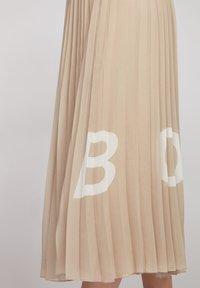 BOSS - TIPLISSEE - Maxi skirt - beige - 3
