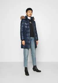 Calvin Klein - ESSENTIAL REAL COAT - Down coat - navy - 1
