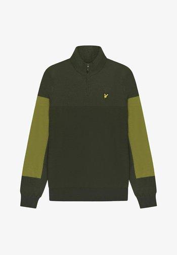 MOFFAT - Stickad tröja - deep spruce