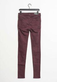Victoria Victoria Beckham - Slim fit jeans - red - 1