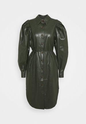 MARIE SLEEVE DRESS - Day dress - olive