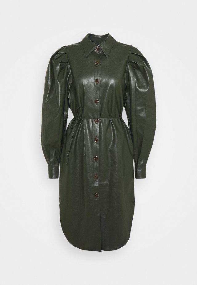 MARIE SLEEVE DRESS - Freizeitkleid - olive