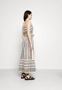 Vero Moda - VMDICTHE SINGLET ANCLE DRESS - Maxi dress - birch/dicthe/black - 2