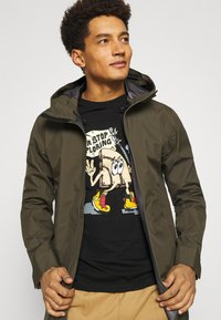 The North Face - GRAPHIC  - Long sleeved top - black - 3