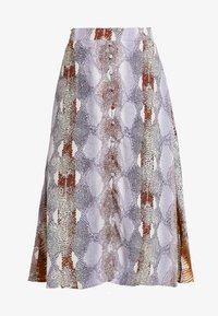 Dranella - SNAKE SKIRT - A-snit nederdel/ A-formede nederdele - dapple gray mix - 3