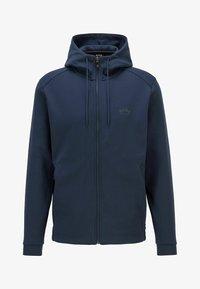 BOSS - SAGGY - Zip-up hoodie - dark blue - 0