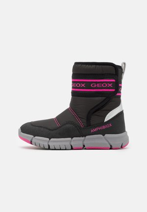 FLEXYPER GIRL - Boots - black/fluo fuchsia
