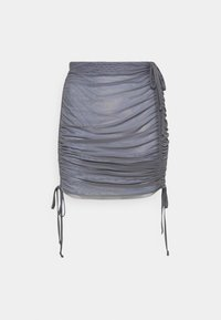 Weekday - BREEZE SHORT SKIRT - Minirok - solid grey - 0