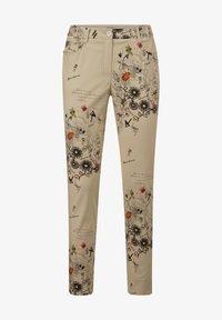 Alba Moda - Trousers - beige,pfirsich,schwarz - 5