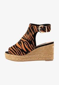 River Island Wide Fit - Højhælede sandaletter / Højhælede sandaler - orange - 1