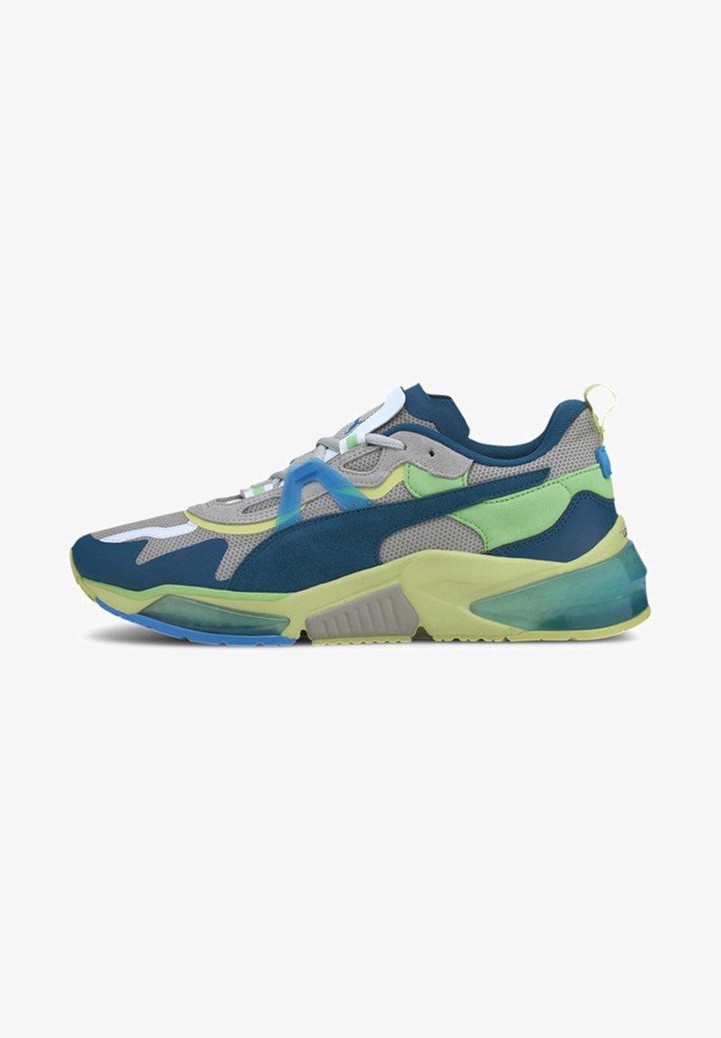Puma - OPTIC PAX LQDCELL  - Sports shoes - gray violet-nrgy blue