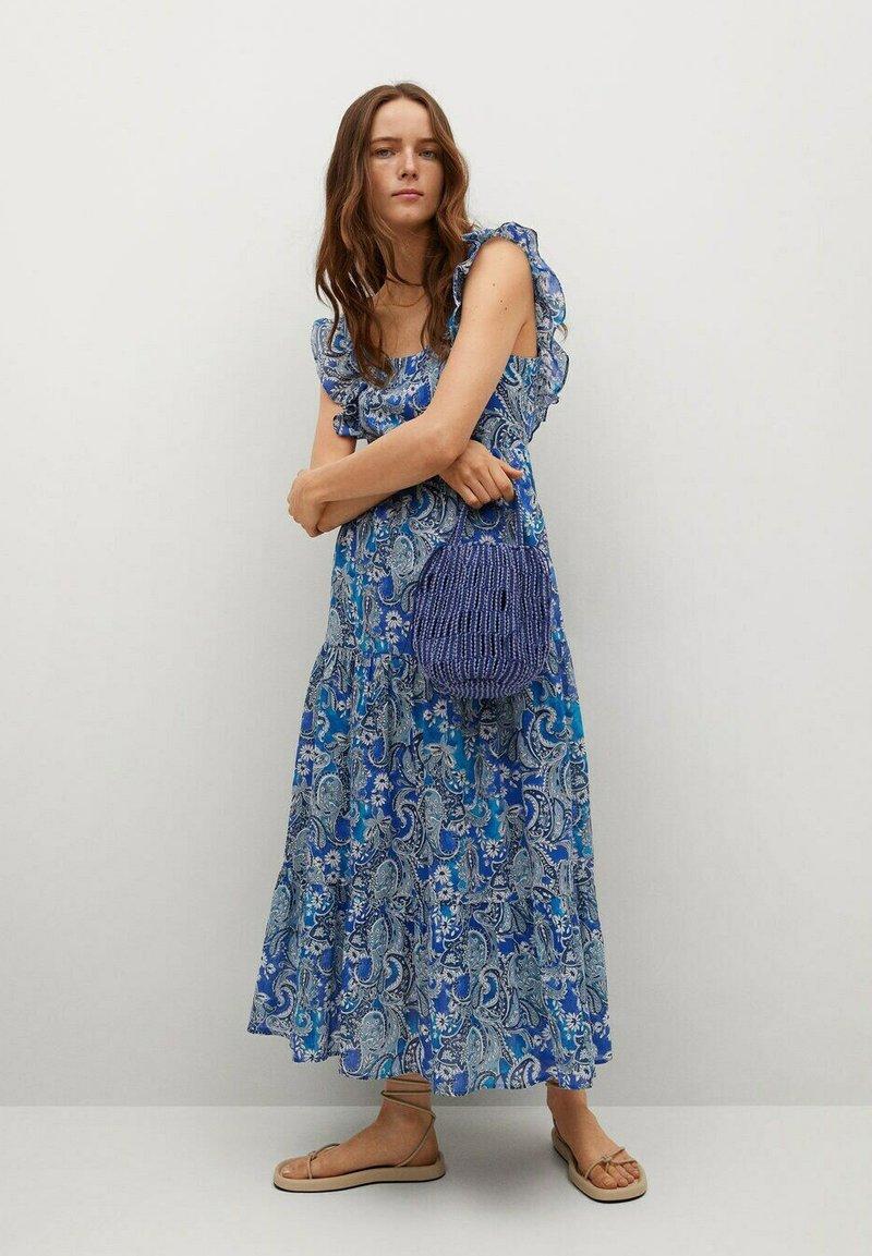 Mango - Robe d'été - blå