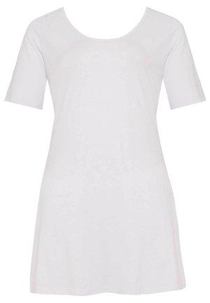 MIT KURZARM - Tunic - white