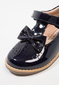 Friboo - Ankle strap ballet pumps - dark blue - 2