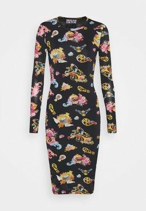 LADY DRESS - Žerzejové šaty - black
