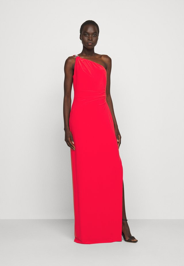 CLASSIC LONG GOWN - Sukienka z dżerseju - african flower